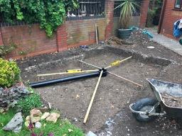 Pond Build Construction Burnham-on-Sea
